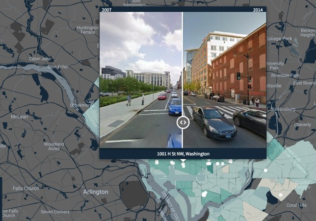 What Artificial Intelligence Reveals About Urban Change