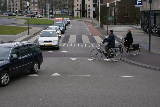 6 Places Where Cars, Bikes, and Pedestrians All Share the Road As Equals