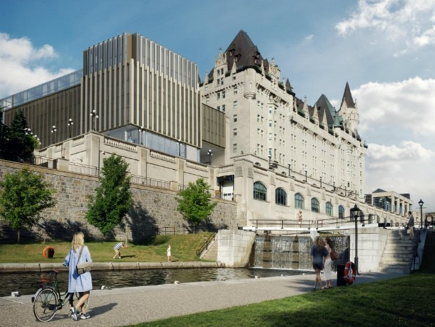A Hated Expansion of Ottawa's Chateau Laurier Will Go Ahead