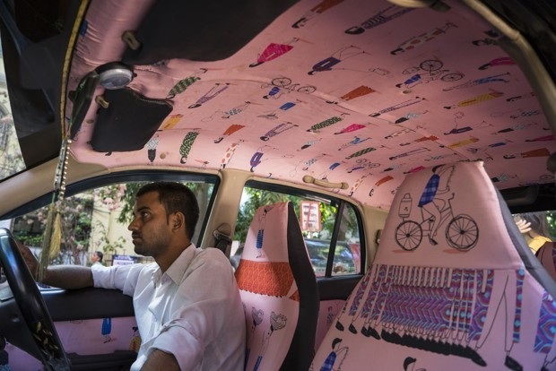 In Mumbai, Taxis Are Transforming Into Works of Art