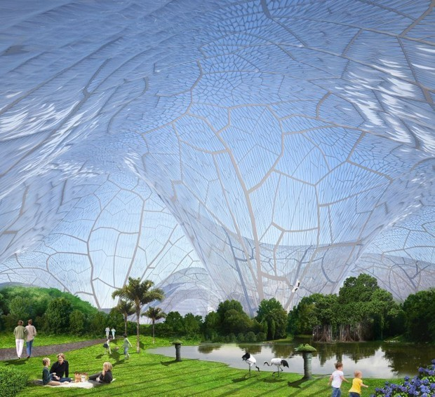 One 'Solution' to Urban Air Pollution: Let's Live in Bubbles