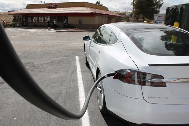 What Running Out of Power in a Tesla on the Side of a Highway Taught Me About the Road Trip of Tomorrow