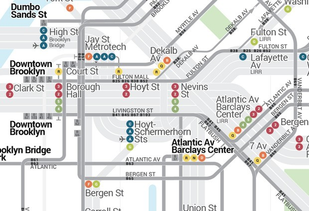 Finally: A Map of NYC Transit That Includes Bus Routes