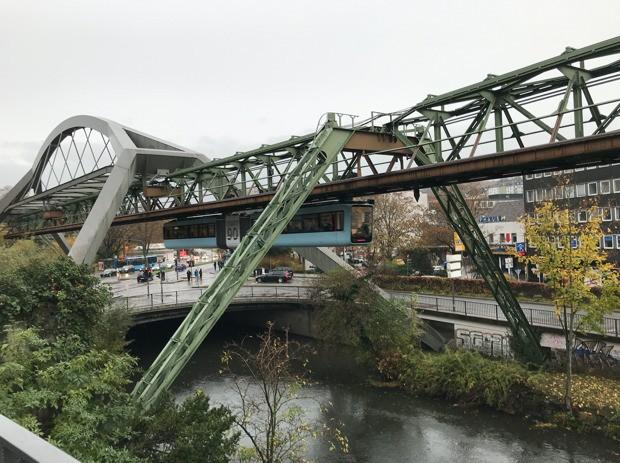 With Trains Like Schwebebahn, No Wonder Germans Love Public Transit