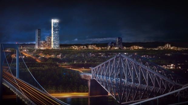 The Skyscraper Dividing Quebec City
