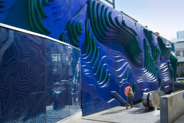 This Oakland Sculpture Changes Color to Suit the Weather