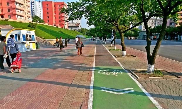Even North Korea Is Building Bike Lanes