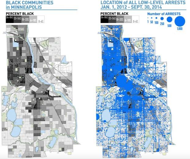 Minneapolis Has Major Racial Disparities in Its Policing