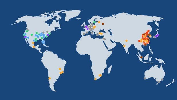 A New Typology of Global Cities