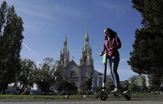 A Bad New Argument Against Scooters: Historic Inappropriateness