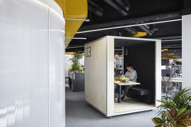 Can 'Pods' Bring Quiet to the Noisy Open Office?