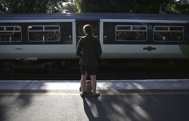 Self-Driving Cars Are Going to Beat Up on Trains, Too