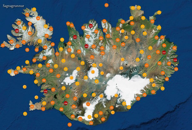 Mapping Where to Find Elves in Iceland's Proposed New National Park