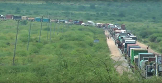 A 3-Day, 30-Mile Traffic Jam Stalls Kenya