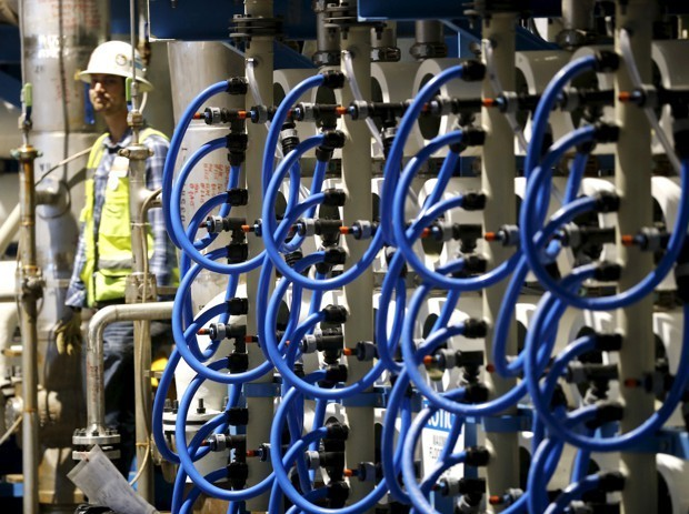 A Water-Stressed World Turns to Desalination