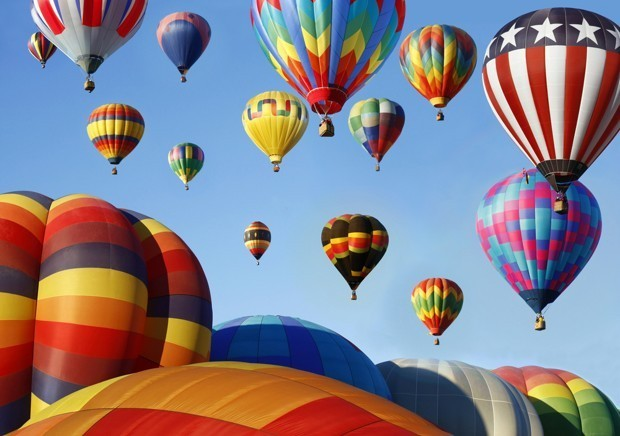 408 Hot Air Balloons Just Took Off at the Same Time — Here's Video