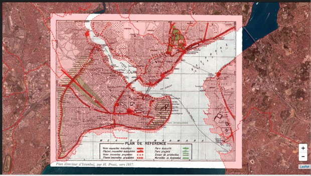 The Evolution of Istanbul, In Maps