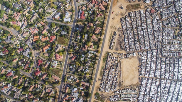 Apartheid's Urban Legacy, in Striking Aerial Photographs