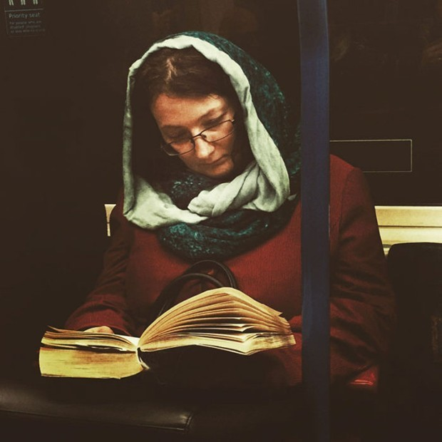 Seeing London Commuters as Renaissance Paintings