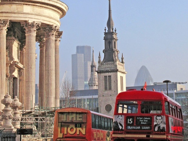 London Slaps Polluting Vehicles With a High New Charge