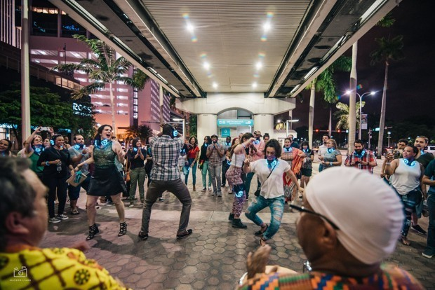 What a Dance Party on the Metromover Says About Transit in Miami