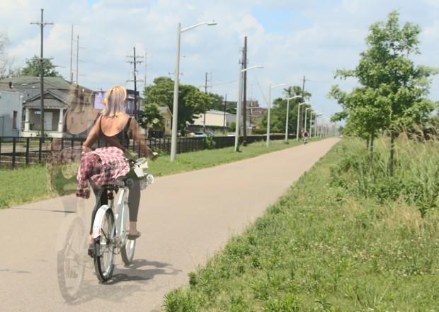 Building a Social Scene Around a Bike Path