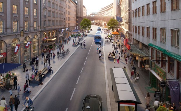 Stockholm Is Coming for Oslo's Car-Free Crown