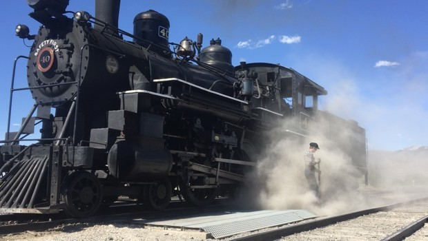 Nevada's Steam-Powered 'Ghost Train' Is Hauling a Message