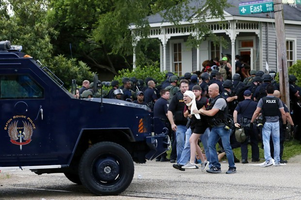 In Baton Rouge, Your Front Yard Is No Sanctuary From Police