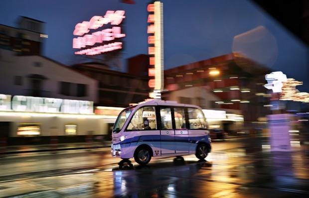 Las Vegas Gambles on a 'Smart City' Technology Makeover