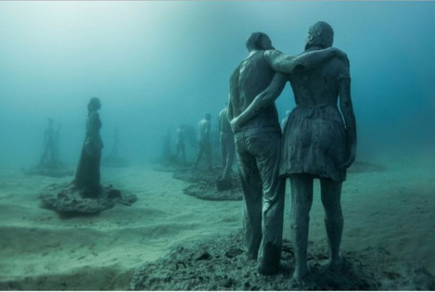A Surreal Underwater Sculpture Museum Is Opening in the Atlantic Ocean
