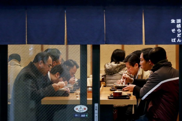 Tokyo's New Strategy for Easing Subway Overcrowding: Free Soba, Tempura