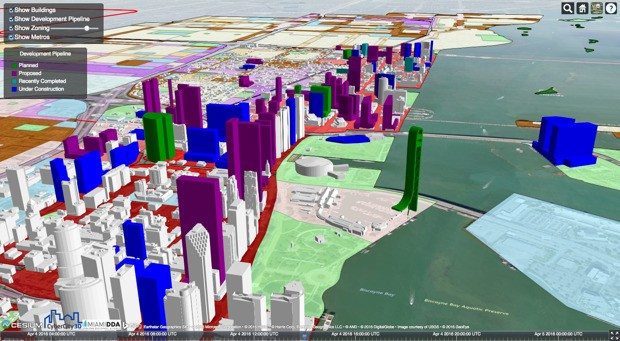 This 3D Map Shows the Imminent Transformation of Miami's Skyline