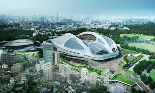 Tokyo Scraps Its Intergalactic Olympic Stadium