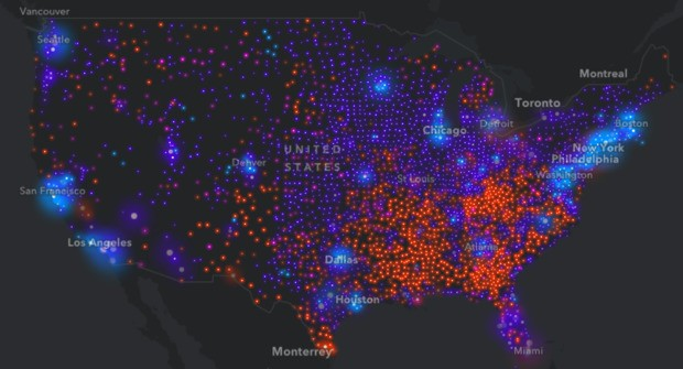 How Cities Are Divided By Income, Mapped