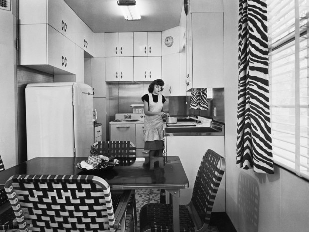 The Origins of the Humble Yet Mighty Apartment Kitchen