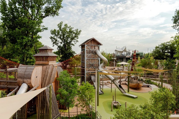 A Short Guide to Tulsa's New $465 Million Park