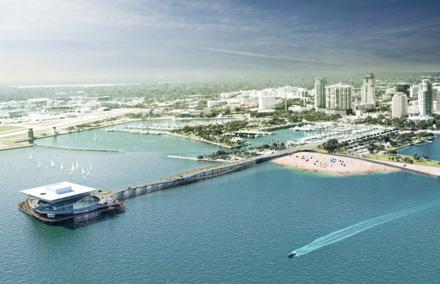 A Scaled Back Dream for an Off-Shore Park