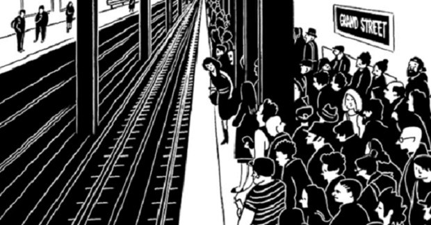 An Illustrator Turns Hellish Subway Commutes Into a Hilarious Graphic Novel