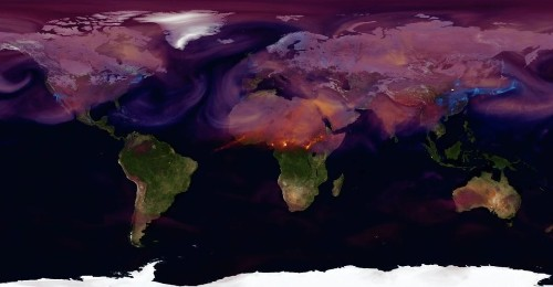 A Hypnotic Animation of the World's Carbon Emissions