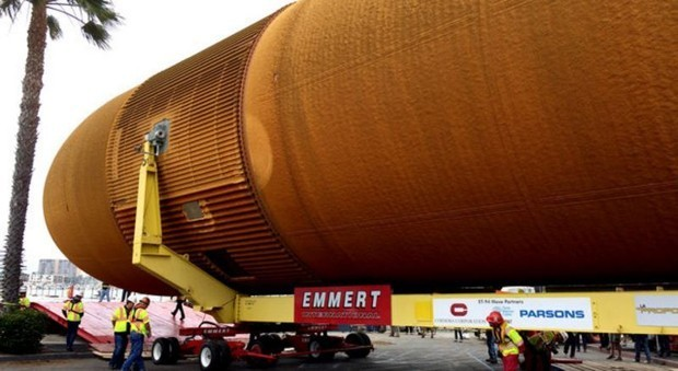 A Huge NASA Fuel Tank Will Lumber Through L.A. This Weekend