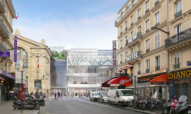 Why a Train Station Addition Has Parisians Outraged