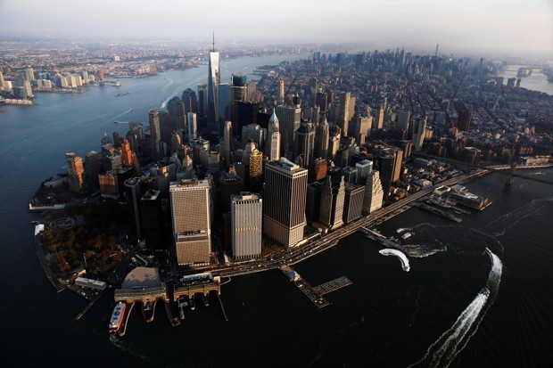 The Curious Case of New York's Two Economic Centers