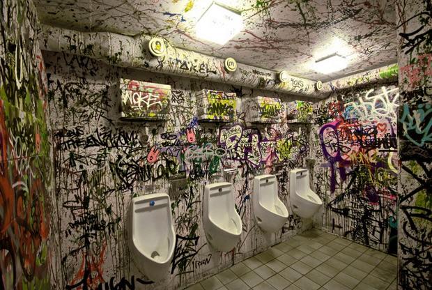Why People Write on Bathroom Walls