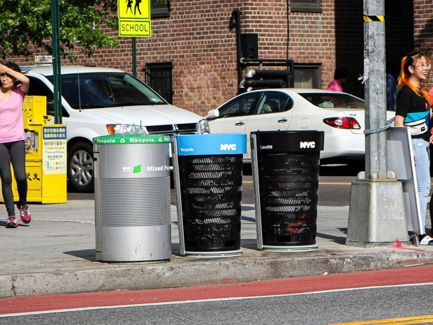 New York City Unveils a Next-Generation Trash Can