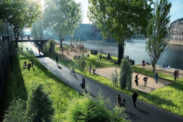 In Paris, Plans for a Seine Reinvention