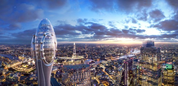 London Mayor Vetoes the 'Tulip' Tower