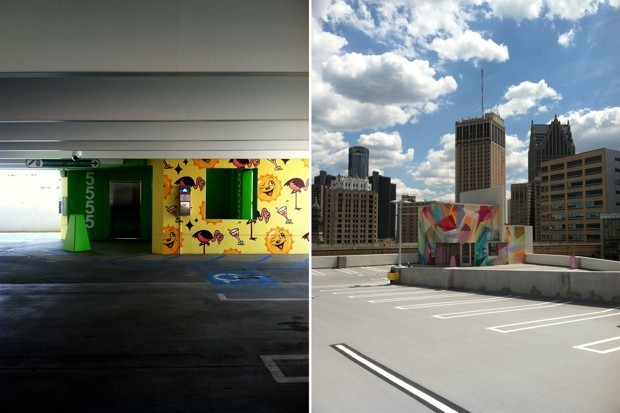 A Parking Garage That Makes You Want to Keep Hunting for a Space