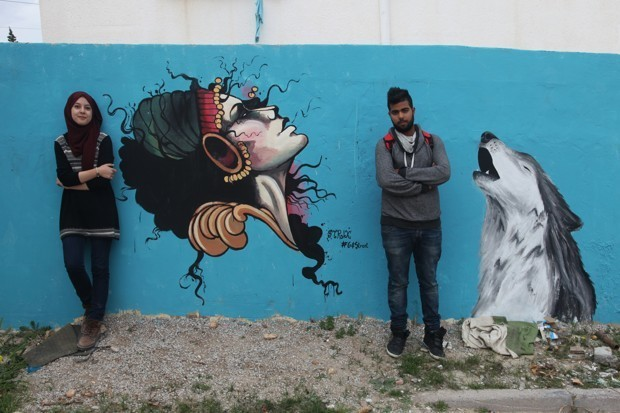 How Street Art Took Off in the Suburbs of Tunis
