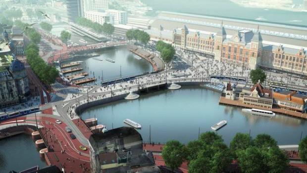 Amsterdam Is Flooding, On Purpose
